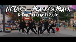 [Cover/222Hz] NCT 2018 - Black On Black | Kpop Challenge In Public | J2N Presents