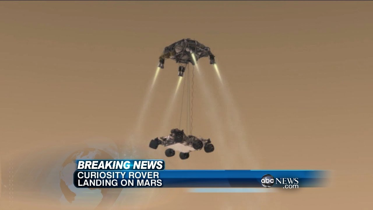 mars landing op tv - photo #2