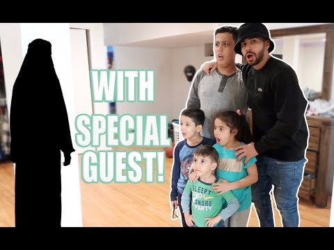 SPECIAL GUEST VISITS OUR NEW HOUSE!!! **SHE'S BACK**
