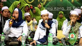 """""""DILAN""""SYUBBANUL MUSLIMIN DI HONG KONG BERSHOLAWAT 25/2/2018"""