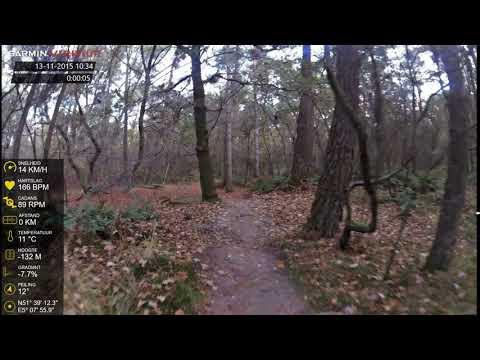 13 nov 2015 tegenliggers op mtb route Loonse en Drunense Duinen