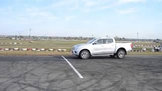 Nissan NAVARA ABS testing