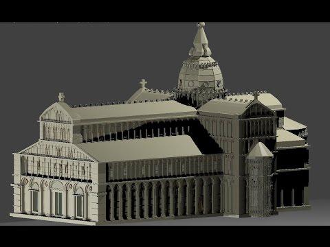 Blender Building Catedral de Santa María Asunta - Italia