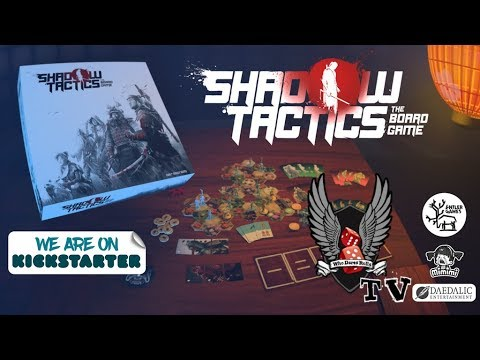 Shadow Tactics - the Board Game by Antler Games — Kickstarter