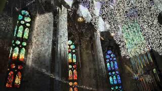 スペインサグラダ・ファミリアの画像にティンホイッスルで「主よみもと...