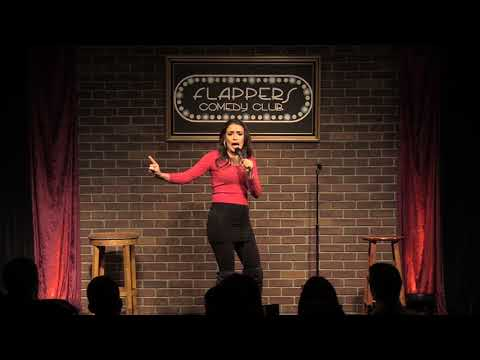 Vannessa Vasquez Actress, first stand up at flappers