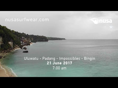 21 - 06 - 2017 /✰ / NUSA's Daily Surf Video Report from the Bukit, Bali.