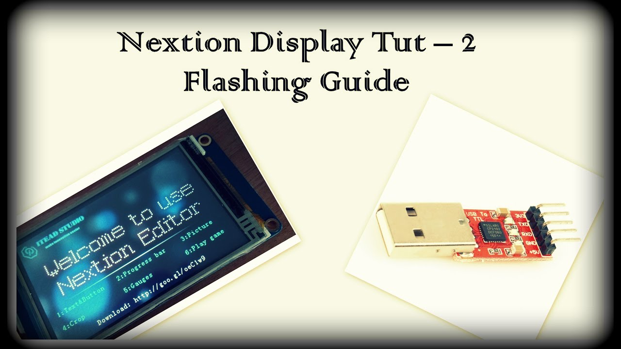 Nextion Display Tutorial Loading Code using UART and SD Card
