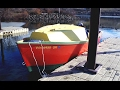 """Anacapa Pacific Power Dory """"Pisca Dory"""" on the Snake River, 1 28 2017"""