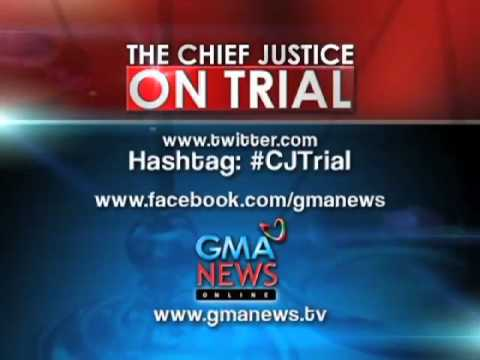 The Chief Justice on Trial, the GMA News Coverage