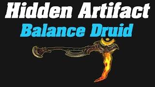 Hidden Artifact Appearance : Balance Druid | Sunbloom |