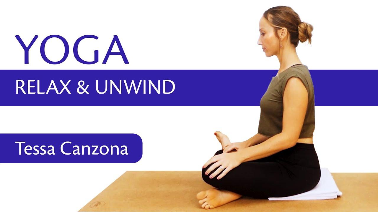 Bedtime Yoga Flow   Improve Sleep, Relax & Unwind, 20 Minute Routine!