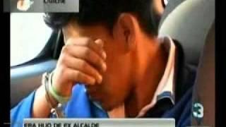 Repeat youtube video 20 01 12TELEDIARIO MD CAPTURAN A HIJO DE EX ALCALDE EN QUICHE CON LIBRAS DE MARIHUANA
