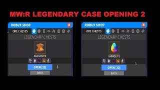 Roblox Medieval Warfare Reforged Legendary Case Opening 2