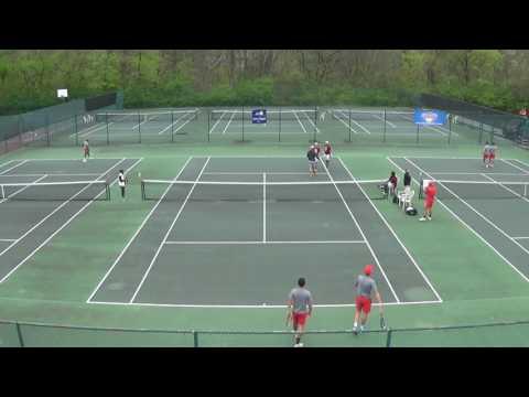 Men's Tennis -  Lucas Bocaletto/Pedro Regalin Doubles Win in 2017 CACC Semifinals!