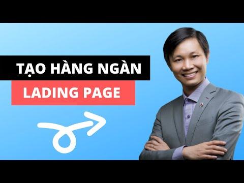 6 Bước tạo hàng ngàn Lading Page bán hàng chỉ với 1 tên miền (2020)