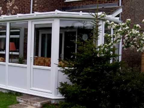 Bespoke solid panels garden room upvc conservatory in for Upvc garden room