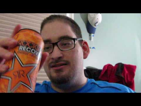 Rockstar Recovery Orange Energy Drink Review