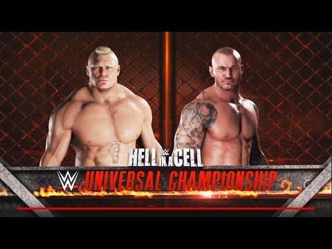 Randy orton vs Brock Lesnar - WWE U.S & Universal Championship Match- WWE-2K18-Gameplay thumbnail