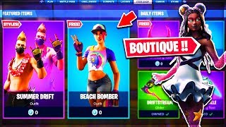 🔴 NEUE SKINS in der BOUTIQUE vom 22. Juni 2019! LIVE FORTNITE DE!