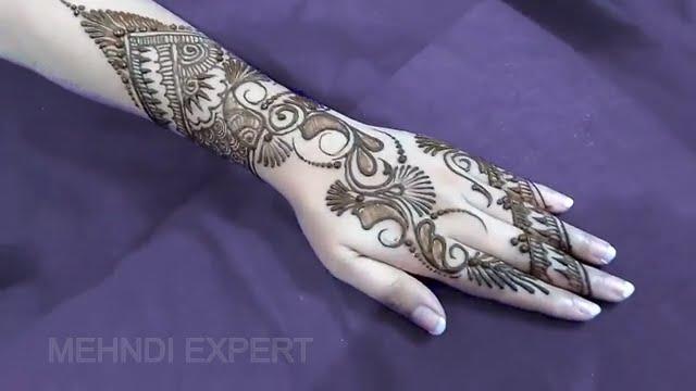 Modern Arabic Mehndi Designs 2014 : 25 brilliant new indo arabic mehndi design domseksa.com
