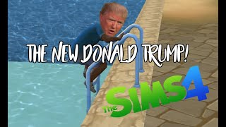 THE NEW DONALD TRUMP!| [ Sims 4 ] ( Funny moments )| Leila Sims
