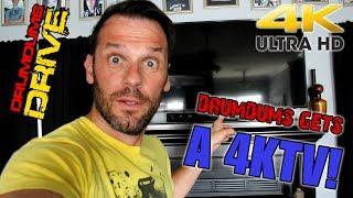 Drumdums Gets A 4K TV!! (Samsung UN55KU6290) + Calibration Settings