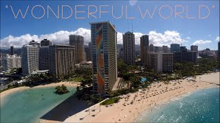 "THE ROYAL HAWAIIAN ~ WAIKIKI ~ ""WONDERFUL WORLD"" GIG VLOG#03"