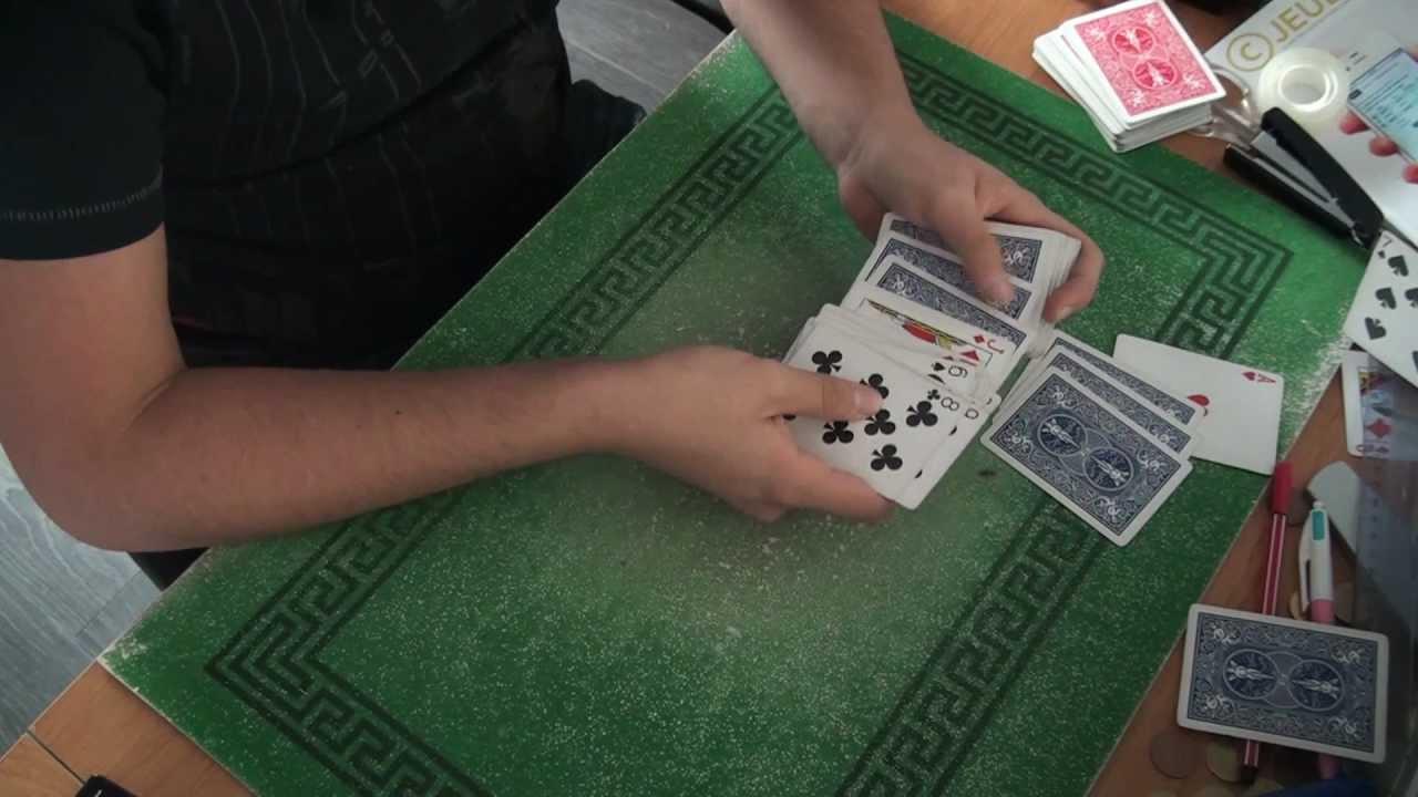 tour de magie carte 4 rois