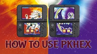 HOW TO INSTALL AND USE PKHeX TO CREATE POKEMON [3DS ONLY]