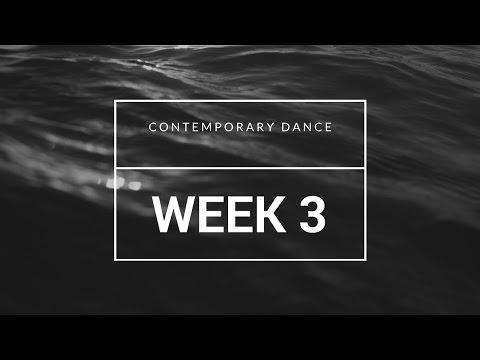 Week 3 - Contemporary Dance