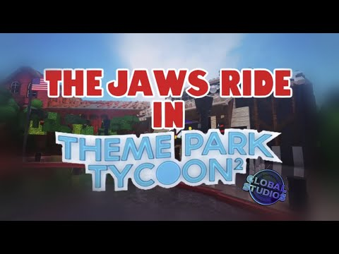 Global Studios | The Jaws Ride in Theme Park Tycoon 2 (Old 2021 POV) |