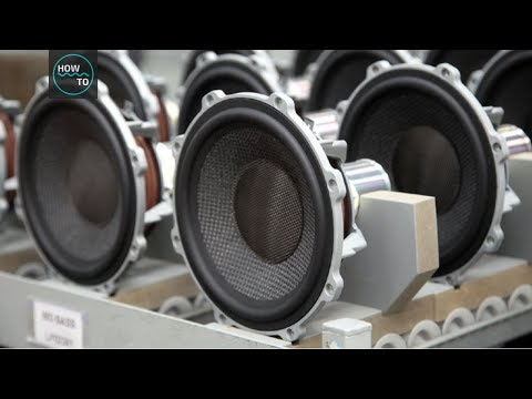 Making Of Speakers - Factory Tour #PART2 | How To