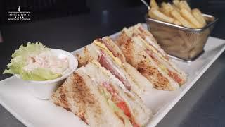 Indigo Bistro Club Sandwich   Indigo Heights Hotel & Suites