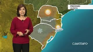 Previsão Sul – Muito frio e mais geada