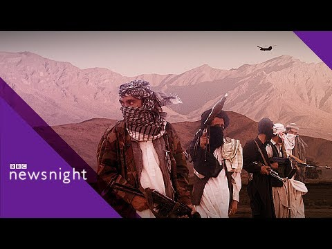 Is Afghanistan's 17-year war coming to an end? - BBC Newsnight