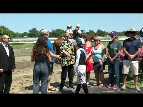 video thumbnail for MONMOUTH PARK 6-28-19 RACE 5