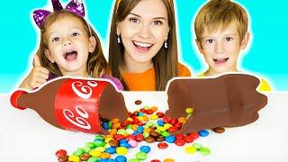 Тима, Еся, мама и детская история про напитки