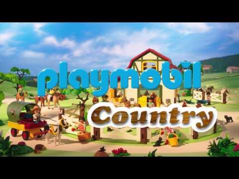 PLAYMOBIL Knights and Pony Farm (English – UK)