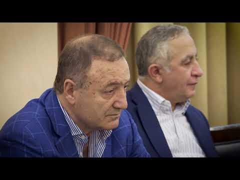 Встреча Антона Кольцова с делегацией Республики Армения