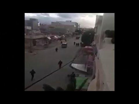 مواجهات ليلية بين متظاهرين وقوات الأمن في عدة مدن تونسية احتجاجا على تردي الأوضاع الاجتماعية  - 23:00-2021 / 1 / 17
