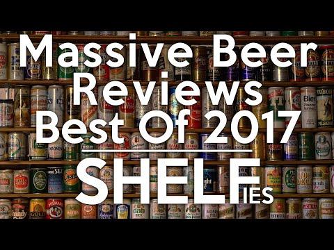 Massive Beer Reviews Best of 2017: SHELFIES
