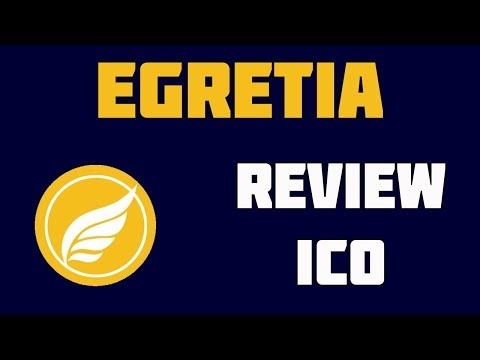 Egretia ICO Review - The World's First HTML5 Blockchain Engine and Platform