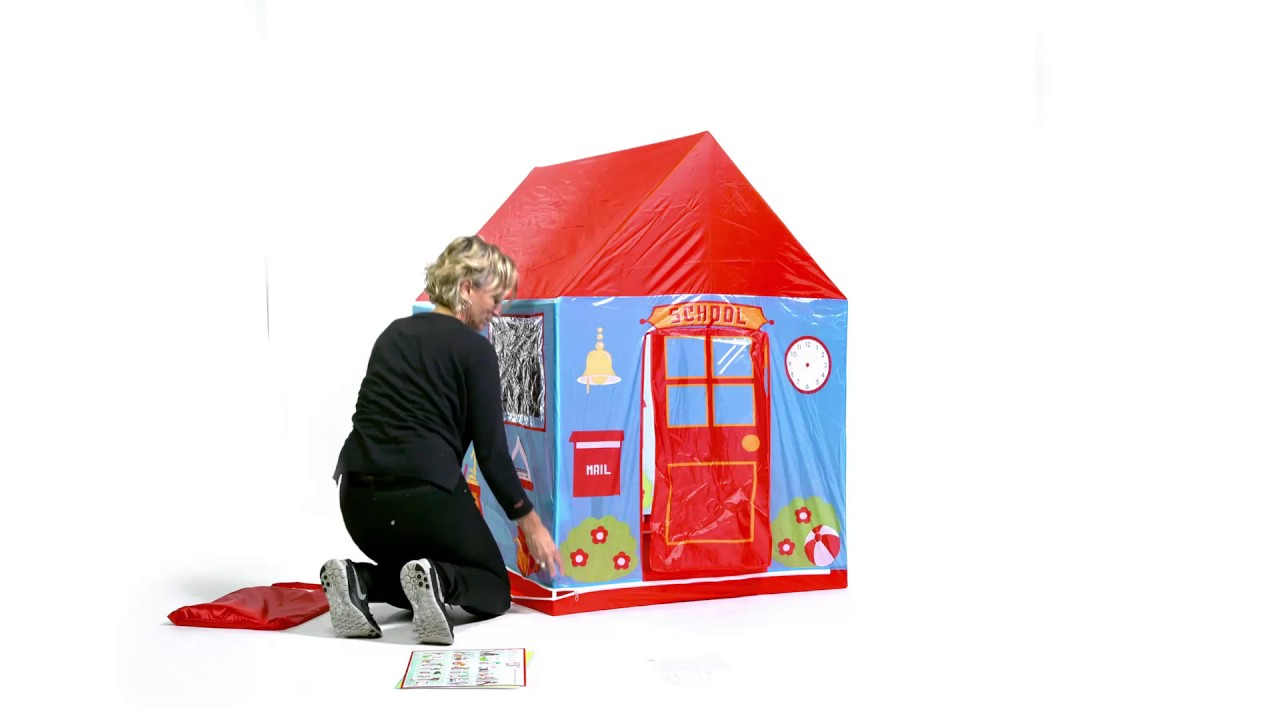 How to pop up and fold away our Pop-It-Up® School play tent  sc 1 st  YouTube : fold up play tent - memphite.com