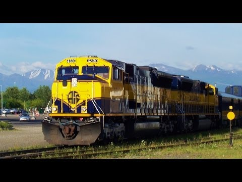 Alaska Railroad Denali Star Train - Anchorage to Fairbanks