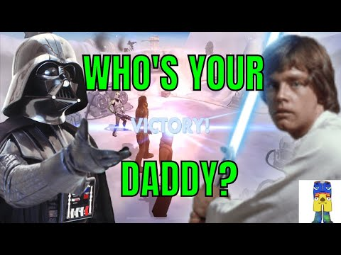 STAR WARS GALAXY OF HEROES WHO'S YOUR DADDY LUKE?