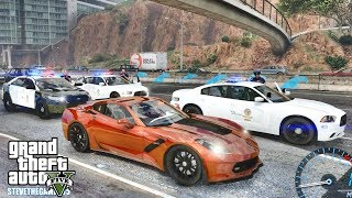 GTA 5 MODS LSPDFR 0.4.1 - CORVETTE PATROL!!! (GTA 5 REAL LIFE PC MOD)