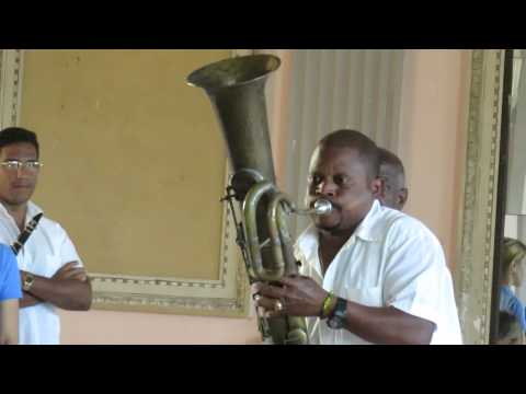 Pink Panther Theme - music performance on antique instruments, Cuba 2015