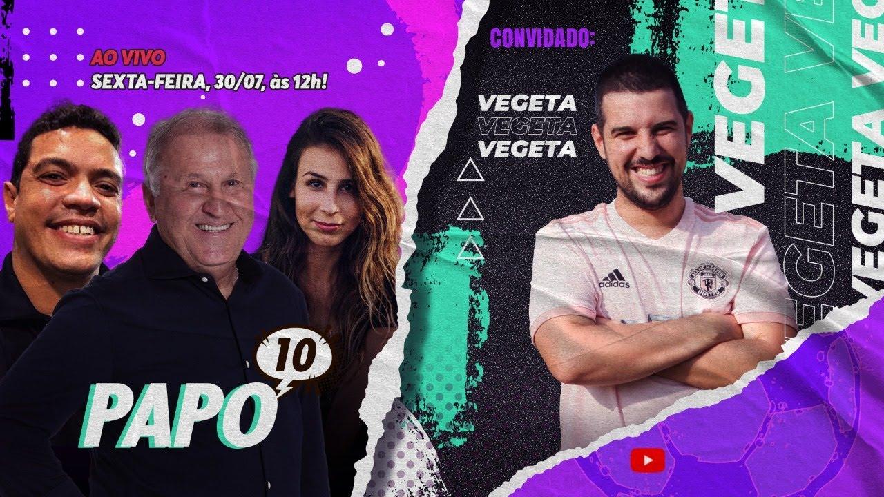 PAPO 10 com ZICO e VEGETA - Flamengo atropela o ABC e Brasil nas Olimpíadas!