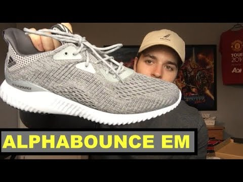 92a7a8f36 Adidas Alphabounce EM UNBOXING and REVIEW - YouTube